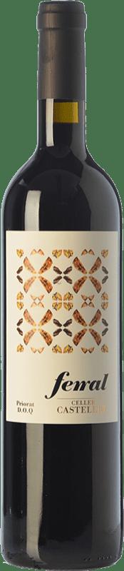 11,95 € 免费送货 | 红酒 Castellet Ferral Crianza D.O.Ca. Priorat 加泰罗尼亚 西班牙 Merlot, Syrah, Grenache, Cabernet Sauvignon, Grenache Hairy 瓶子 75 cl