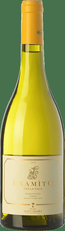 19,95 € Free Shipping | White wine Castello della Sala Bramìto della Sala I.G.T. Umbria Umbria Italy Chardonnay Bottle 75 cl