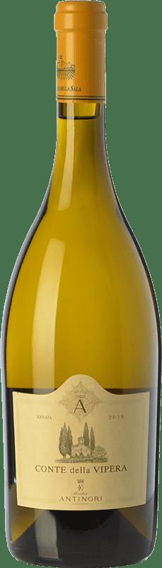 26,95 € Free Shipping | White wine Castello della Sala Conte della Vipera I.G.T. Umbria Umbria Italy Sémillon, Sauvignon Bottle 75 cl