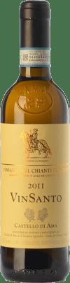 53,95 € Free Shipping | Sweet wine Castello di Ama D.O.C. Vin Santo del Chianti Classico Tuscany Italy Malvasía, Trebbiano Toscano Half Bottle 37 cl