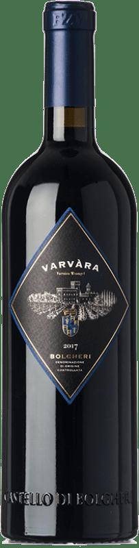 29,95 € Free Shipping | Red wine Castello di Bolgheri Varvàra D.O.C. Bolgheri Tuscany Italy Merlot, Syrah, Cabernet Sauvignon, Petit Verdot Bottle 75 cl