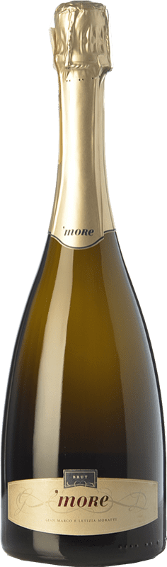 33,95 € | White sparkling Castello di Cigognola More D.O.C.G. Oltrepò Pavese Metodo Classico Lombardia Italy Pinot Black Bottle 75 cl