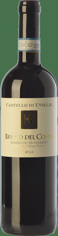 9,95 € | Red wine Castello di Uviglie Bricco del Conte D.O.C. Barbera del Monferrato Piemonte Italy Barbera Bottle 75 cl