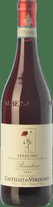 16,95 € Free Shipping | Red wine Castello di Verduno Basadone D.O.C. Verduno Pelaverga Piemonte Italy Pelaverga Bottle 75 cl
