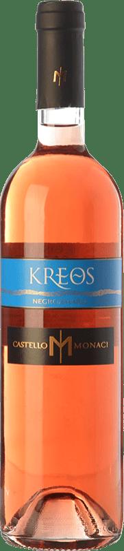 9,95 € Free Shipping | Rosé wine Castello Monaci Kreos I.G.T. Salento Campania Italy Negroamaro Bottle 75 cl