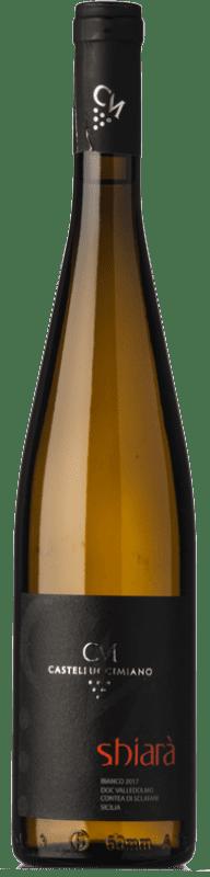 29,95 € Free Shipping | White wine Castellucci Miano Shiarà I.G.T. Terre Siciliane Sicily Italy Catarratto Bottle 75 cl