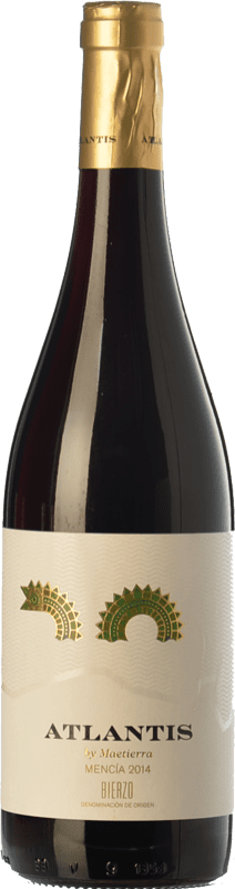 7,95 € | Red wine Castillo de Maetierra Atlantis Joven D.O. Bierzo Castilla y León Spain Mencía Bottle 75 cl