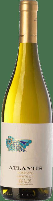 11,95 € | White wine Castillo de Maetierra Atlantis D.O. Rías Baixas Galicia Spain Albariño Bottle 75 cl