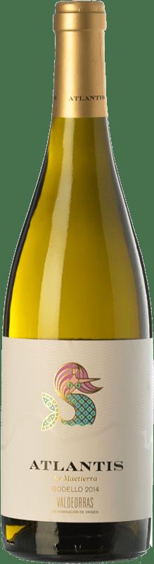 12,95 € Free Shipping | White wine Castillo de Maetierra Atlantis D.O. Valdeorras Galicia Spain Godello Bottle 75 cl