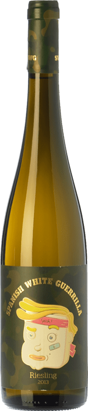 8,95 € | White wine Castillo de Maetierra Spanish White Guerrilla I.G.P. Vino de la Tierra Valles de Sadacia The Rioja Spain Riesling Bottle 75 cl