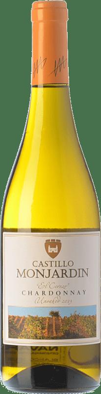 54,95 € Free Shipping | White wine Castillo de Monjardín D.O. Navarra Navarre Spain Chardonnay Jéroboam Bottle-Double Magnum 3 L