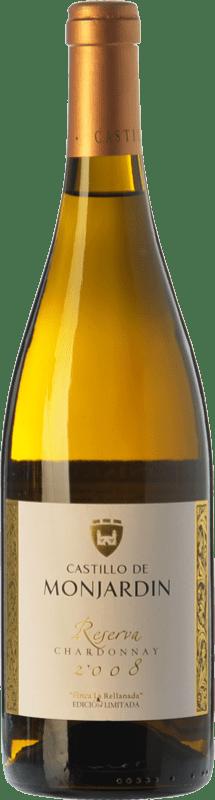 19,95 € Free Shipping | White wine Castillo de Monjardín Reserva D.O. Navarra Navarre Spain Chardonnay Bottle 75 cl