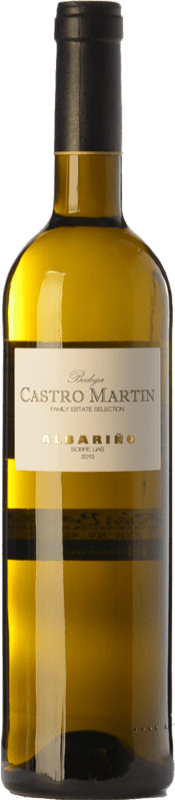9,95 € Envoi gratuit | Vin blanc Castro Martín D.O. Rías Baixas Galice Espagne Albariño Bouteille 75 cl