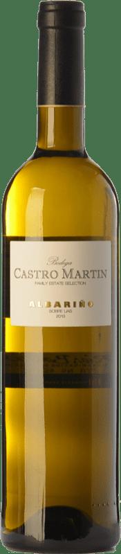 9,95 € Free Shipping | White wine Castro Martín D.O. Rías Baixas Galicia Spain Albariño Bottle 75 cl