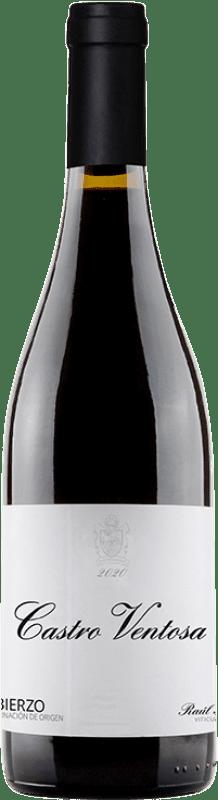8,95 € 免费送货   红酒 Castro Ventosa El Castro de Valtuille Joven D.O. Bierzo 卡斯蒂利亚莱昂 西班牙 Mencía 瓶子 75 cl