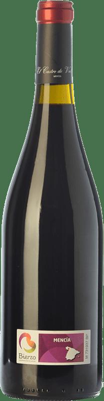 7,95 € Free Shipping | Red wine Castro Ventosa El Castro de Valtuille Joven D.O. Bierzo Castilla y León Spain Mencía Bottle 75 cl