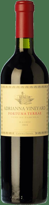108,95 € 免费送货 | 红酒 Catena Zapata Adrianna Vineyard Fortuna Terrae Crianza I.G. Mendoza 门多萨 阿根廷 Malbec 瓶子 75 cl