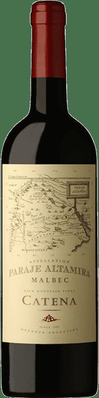17,95 € Envío gratis | Vino tinto Catena Zapata Paraje Reserva I.G. Altamira Altamira Argentina Malbec Botella 75 cl
