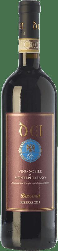 52,95 € Free Shipping | Red wine Caterina Dei Bossona Riserva Reserva D.O.C.G. Vino Nobile di Montepulciano Tuscany Italy Sangiovese Bottle 75 cl