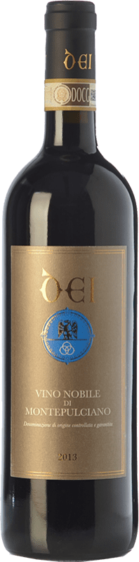 26,95 € | Red wine Caterina Dei D.O.C.G. Vino Nobile di Montepulciano Tuscany Italy Sangiovese, Canaiolo Bottle 75 cl