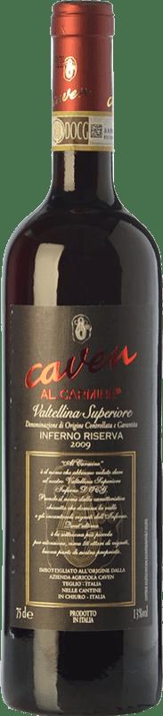 29,95 € Free Shipping | Red wine Caven Inferno Riserva Al Carmine Reserva D.O.C.G. Valtellina Superiore Lombardia Italy Nebbiolo Bottle 75 cl