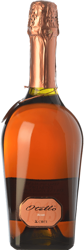 11,95 € Envío gratis | Espumoso rosado Ceci Otello Rosè I.G.T. Emilia Romagna Emilia-Romagna Italia Lambrusco Maestri, Pinot Negro Botella 75 cl