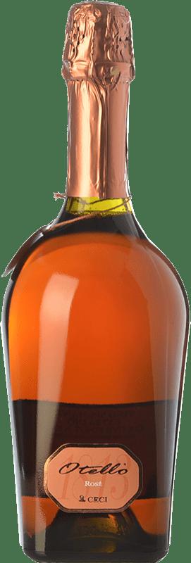 11,95 € Free Shipping | Rosé sparkling Ceci Otello Rosè I.G.T. Emilia Romagna Emilia-Romagna Italy Lambrusco Maestri, Pinot Black Bottle 75 cl