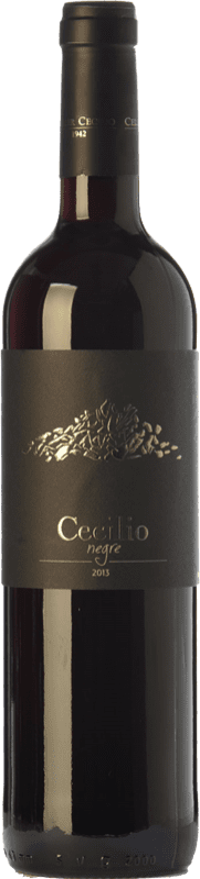 15,95 € 免费送货 | 红酒 Cecilio Negre Joven D.O.Ca. Priorat 加泰罗尼亚 西班牙 Grenache, Cabernet Sauvignon, Carignan 瓶子 75 cl