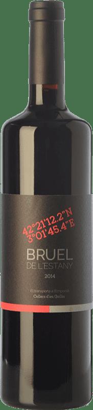 15,95 € | Red wine Guilla Bruel de l'Estany Joven D.O. Empordà Catalonia Spain Grenache, Carignan Bottle 75 cl