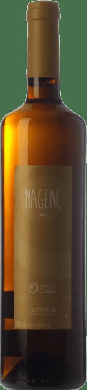 9,95 € | White wine Guilla Magenc Blanc D.O. Empordà Catalonia Spain Grenache Tintorera, Grenache White, Muscatel, Macabeo Bottle 75 cl