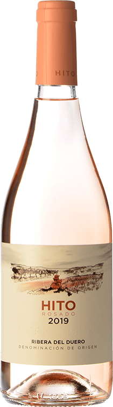 9,95 € Envoi gratuit | Vin rose Cepa 21 Hito D.O. Ribera del Duero Castille et Leon Espagne Tempranillo Bouteille 75 cl