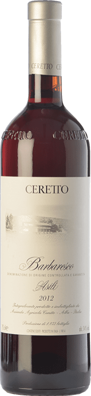 163,95 € Free Shipping | Red wine Ceretto Bricco Asili D.O.C.G. Barbaresco Piemonte Italy Nebbiolo Bottle 75 cl