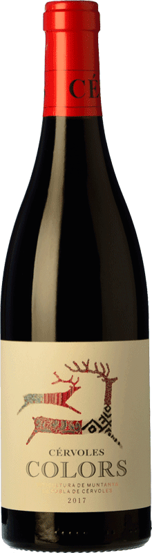 12,95 € Free Shipping   Red wine Cérvoles Colors Joven D.O. Costers del Segre Catalonia Spain Tempranillo, Merlot, Syrah, Grenache, Cabernet Sauvignon Magnum Bottle 1,5 L