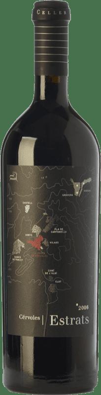 47,95 € Free Shipping   Red wine Cérvoles Estrats Crianza D.O. Costers del Segre Catalonia Spain Tempranillo, Grenache, Cabernet Sauvignon Bottle 75 cl