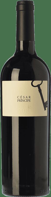27,95 € Envío gratis | Vino tinto César Príncipe Crianza D.O. Cigales Castilla y León España Tempranillo Botella 75 cl