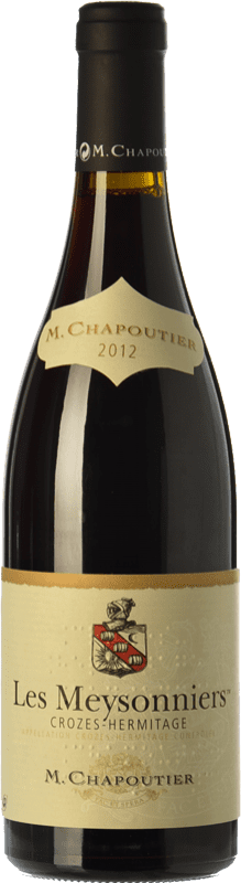 28,95 € Free Shipping | Red wine Chapoutier Les Meysonniers Rouge Joven A.O.C. Crozes-Hermitage Rhône France Syrah Bottle 75 cl