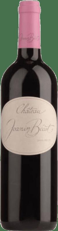25,95 € Free Shipping | Red wine Château Joanin Bécot Crianza A.O.C. Côtes de Castillon Bordeaux France Merlot, Cabernet Franc Bottle 75 cl