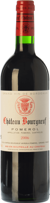 49,95 € Free Shipping | Red wine Château Bourgneuf Reserva A.O.C. Pomerol Bordeaux France Merlot, Cabernet Franc Bottle 75 cl