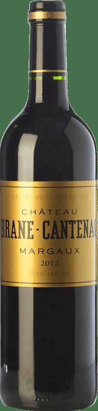 91,95 € Free Shipping | Red wine Château Brane Cantenac A.O.C. Margaux Bordeaux France Merlot, Cabernet Sauvignon, Cabernet Franc, Carmenère Bottle 75 cl