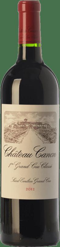 135,95 € Free Shipping | Red wine Château Canon Crianza A.O.C. Saint-Émilion Grand Cru Bordeaux France Merlot, Cabernet Franc Bottle 75 cl