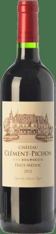 27,95 € Free Shipping | Red wine Château Clément-Pichon Crianza A.O.C. Haut-Médoc Bordeaux France Merlot, Cabernet Sauvignon, Cabernet Franc Bottle 75 cl