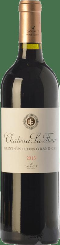44,95 € Free Shipping | Red wine Château Dassault Château La Fleur Crianza A.O.C. Saint-Émilion Grand Cru Bordeaux France Merlot, Cabernet Franc Bottle 75 cl