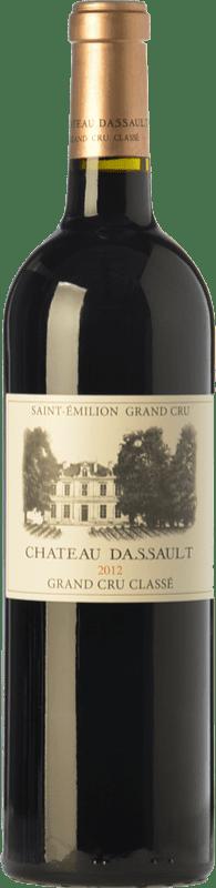 59,95 € Free Shipping | Red wine Château Dassault Crianza A.O.C. Saint-Émilion Grand Cru Bordeaux France Merlot, Cabernet Sauvignon, Cabernet Franc Bottle 75 cl