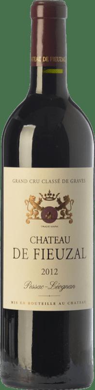 65,95 € Free Shipping | Red wine Château de Fieuzal Crianza A.O.C. Pessac-Léognan Bordeaux France Merlot, Cabernet Sauvignon, Cabernet Franc, Petit Verdot Bottle 75 cl