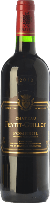 31,95 € Free Shipping   Red wine Château Feytit-Guillot Crianza A.O.C. Pomerol Bordeaux France Merlot, Cabernet Sauvignon, Cabernet Franc Bottle 75 cl