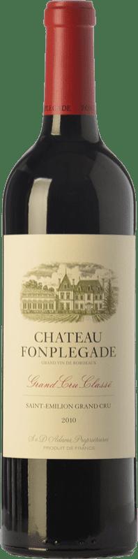 51,95 € Free Shipping | Red wine Château Fonplégade Crianza A.O.C. Saint-Émilion Grand Cru Bordeaux France Merlot, Cabernet Sauvignon, Cabernet Franc Bottle 75 cl
