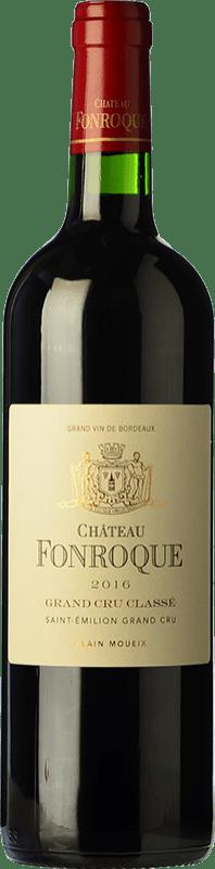 49,95 € Free Shipping   Red wine Château Fonroque Crianza A.O.C. Saint-Émilion Grand Cru Bordeaux France Merlot, Cabernet Franc Bottle 75 cl