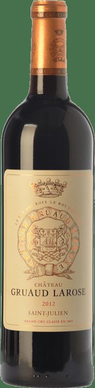 91,95 € Free Shipping | Red wine Château Gruaud Larose Crianza A.O.C. Saint-Julien Bordeaux France Merlot, Cabernet Sauvignon, Cabernet Franc, Petit Verdot Bottle 75 cl