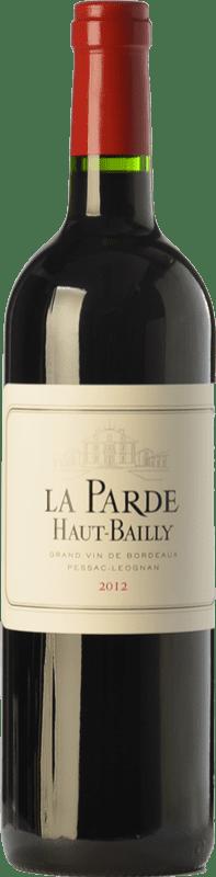 39,95 € | Red wine Château Haut-Bailly La Parde Crianza A.O.C. Pessac-Léognan Bordeaux France Merlot, Cabernet Sauvignon, Cabernet Franc Bottle 75 cl