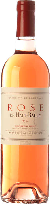 13,95 € | Rosé wine Château Haut-Bailly Rose A.O.C. Bordeaux Bordeaux France Cabernet Sauvignon Bottle 75 cl